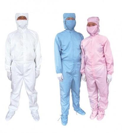 Bộ quần áo phòng sạch chống tĩnh điện