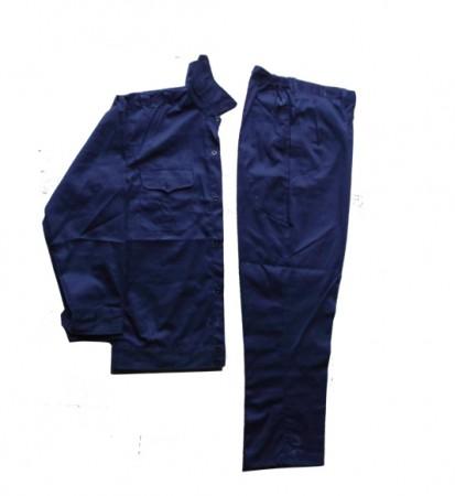Bộ quần áo bảo hộ dành cho công nhân màu xanh tím than